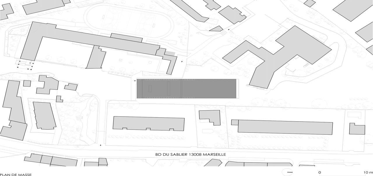 Bureau D Étude Béton Marseille fiche d'architecture | trophée béton