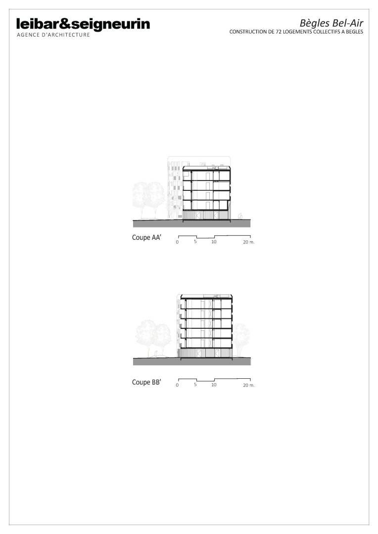 fiche darchitecture troph233e b233ton